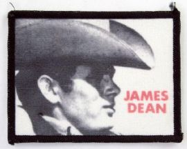 James Dean - 'Cowboy Hat' Printed Patch